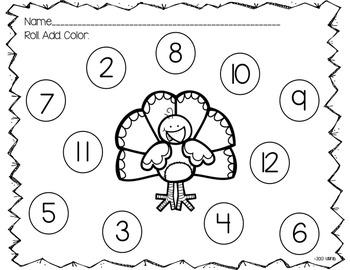 Turkey Math Games