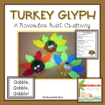 Turkey Math Glyph Craftivity