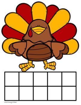Turkey Math : Make Ten Turkey and Turkey Bonds