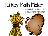 Turkey Math Match