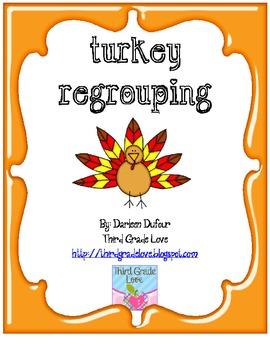 Turkey Math Regrouping
