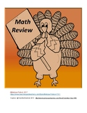 Turkey Math Review