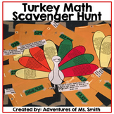 Thanksgiving Turkey (Math) Scavenger Hunt