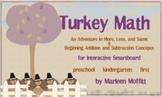 Turkey Math for kindergarten (Notebook 11)