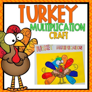 Turkey Multiplication Craft and Activity