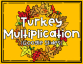 Turkey Multiplication- GOOGLE SLIDES