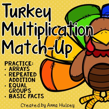 Turkey Multiplication Match-Up