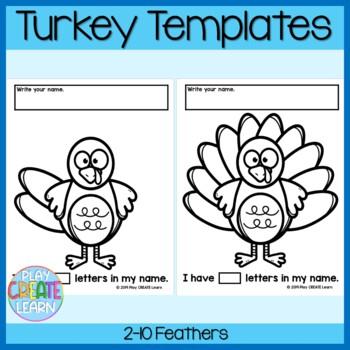 Turkey Name Art Craft