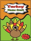 Turkey Name Craft