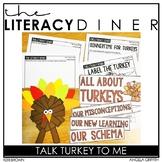 Turkey Nonfiction - Kindergarten Interactive Read Aloud