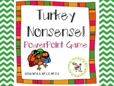Turkey Nonsense! CVC PowerPoint Game