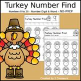 Turkey Number Find