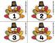 Turkey Number Fluency Cards | Spanish | 1-10