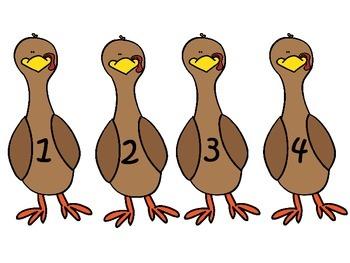 Turkey Number Matching