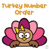 Turkey Number Order Freebie
