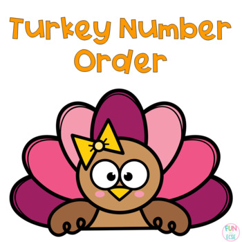 Turkey Number Order Freebie