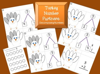 Turkey Number Partners: Decomposing Numbers