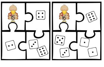 Turkey Number Puzzles (11-20)