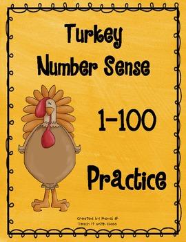 Turkey Number Sense 1-100