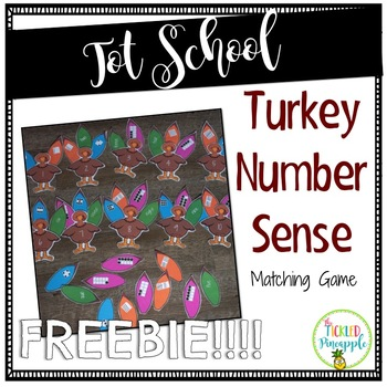 Turkey-Number Sense-FREEBIE!!!