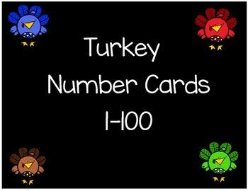 Turkey Numbers 1-100