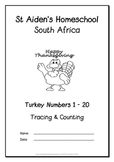 Turkey Numbers 1-20