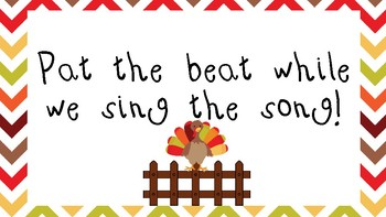 Turkey On A Fencepost - a song to teach Sixteenth Notes