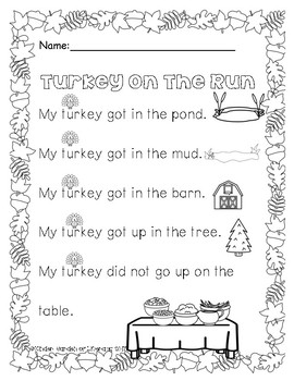 Reading with Dots-Turkey On The Run
