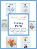 Turkey Pack - Literacy, Math and More - for Preschool, Pre