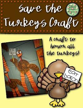 Turkey Paper Craft