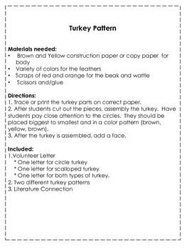 Turkey Pattern