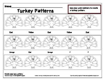 Turkey Patterns
