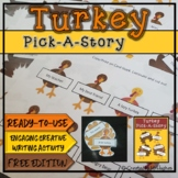 Turkey Pick-a-Story {FREE}