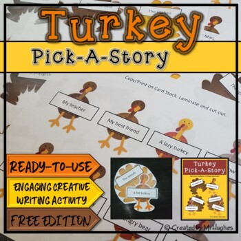Turkey Pick-a-Story {FREE}