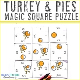 Thanksgiving Math Game | FRACTION Turkey Math Center