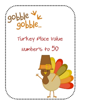 Turkey Place Value Activity