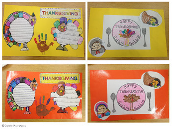 Thanksgiving Turkey Placemant Project