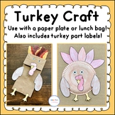 Turkey Plate and Bag Craft