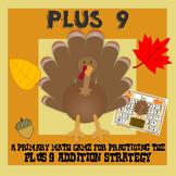 Turkey Plus Nine - Thanksgiving Addition Strategy Game - 3 Versions