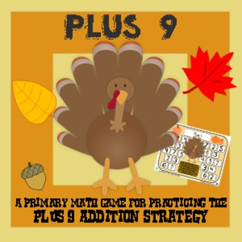 Turkey Plus Nine - Thanksgiving Addition Strategy Game - 3 Versions