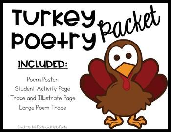 Turkey Poem Packet