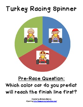 Turkey Racing Graphing Activity