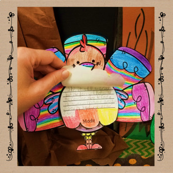 Turkey Reading Response Flipbook for Any Fiction or Nonfiction Book