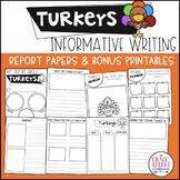Turkeys Informative Writing Report