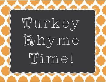 Turkey Rhyme Time
