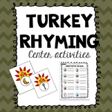 Turkey Rhyming Activities