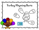 Turkey Rhyming Sort