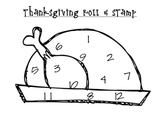 Turkey Roll & Stamp