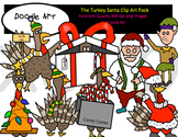 Turkey Santa Clipart Pack