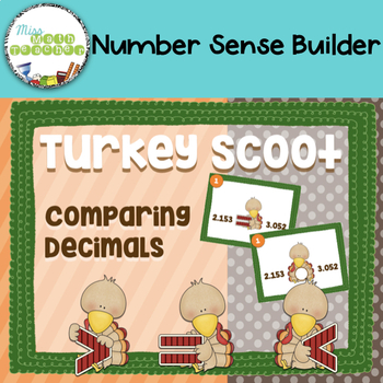 Turkey Scoot Comparing Decimals